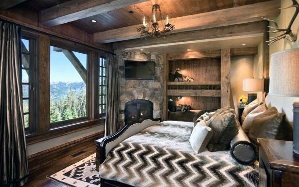 Top 100 Best Rustic Bedroom Ideas Vintage Designs