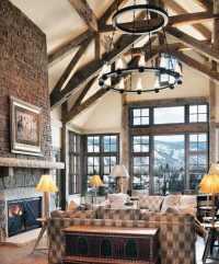 Top 50 Best Rustic Ceiling Ideas