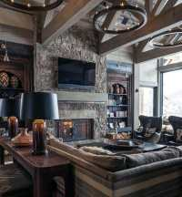 Top 60 Best Rustic Living Room Ideas - Vintage Interior ...