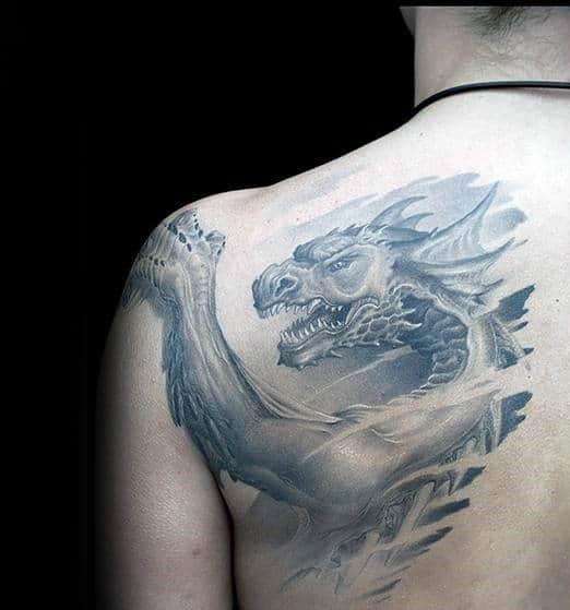 Mens Tattoos Shoulder Blade Best Tattoo Ideas