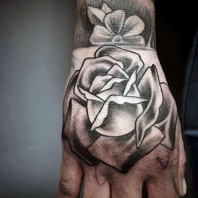 Tattoo Designs For Men Black Hand