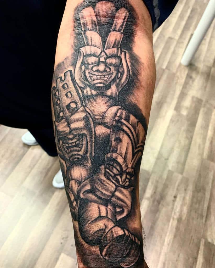 ~ See No Evil, Hear No Evil, Speak No Evil ~ Tattoo ( Time
