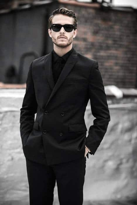 wallpapers Black Style Formal Black Style Shirts For Men 40 all black outfits for men bold