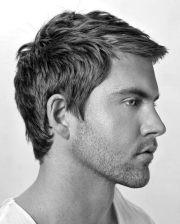 short wavy hair men - 70 masculine