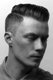 men's short haircuts thick