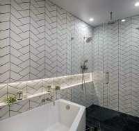 Top 70 Best Shower Niche Ideas - Recessed Shelf Designs
