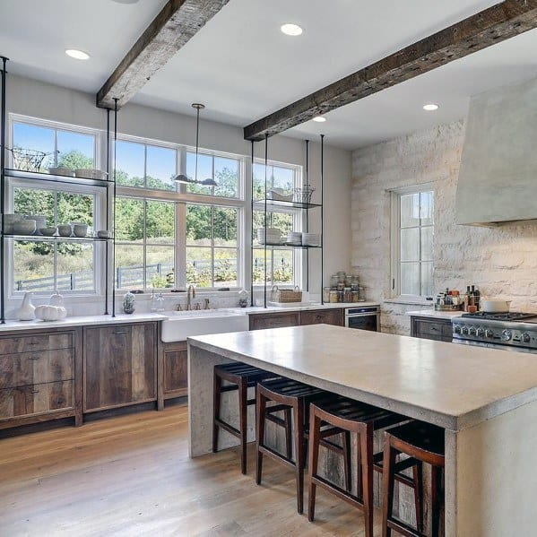 kitchen ceilings lowes kitchens designs top 75 best ceiling ideas home interior simple faux wood beams for