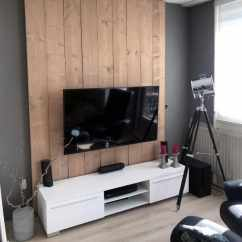 Living Room Wall Ideas With Tv Grey Sofa Top 70 Best Television Designs Simple Painted And Wood