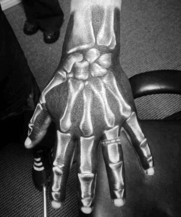 badass hand tattoos men