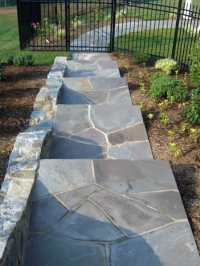 Top 40 Best Flagstone Walkway Ideas - Hardscape Path Designs