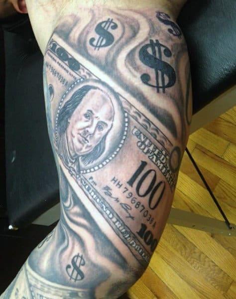 Hood Money Bag Tattoo : money, tattoo, Tattoos, Tattoo, Ideas
