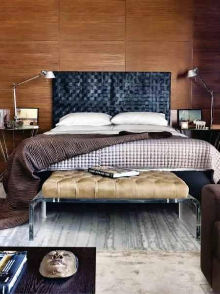 masculine bedroom decorating ideas 60 Men's Bedroom Ideas - Masculine Interior Design Inspiration