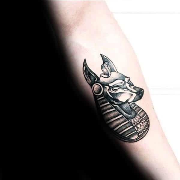 anubis tattoo design men