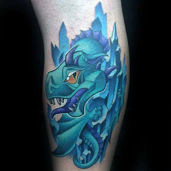 50 Small Dragon Tattoos For Men  Firebreathing Design Ideas