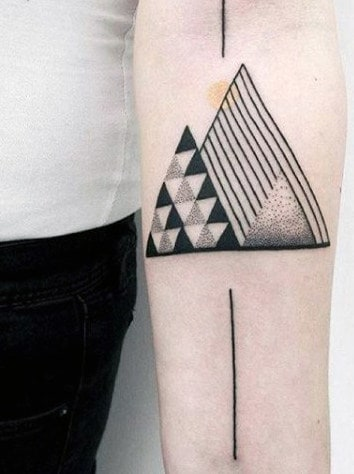 Simple Tattoo Designs For Men : simple, tattoo, designs, Small, Simple, Tattoos, [2021, Inspiration, Guide]