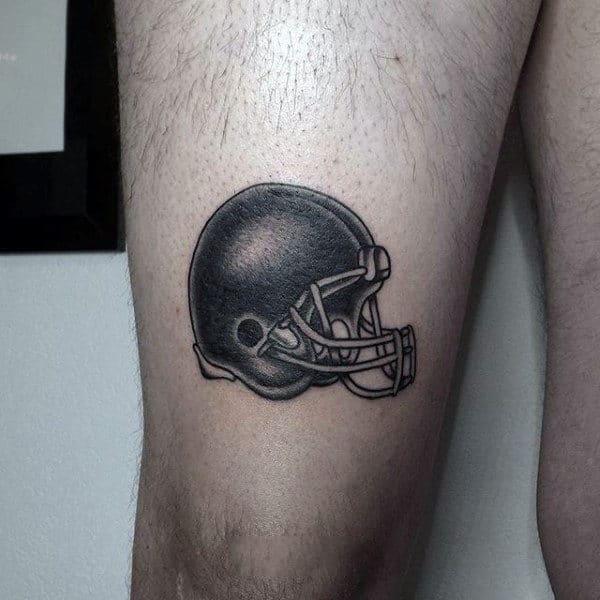 20 Simple Football Tattoos American Ideas And Designs