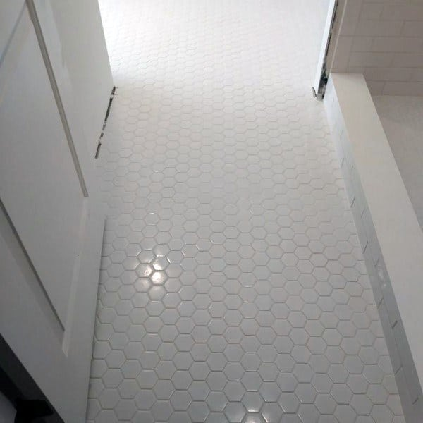 top 60 best bathroom floor design ideas