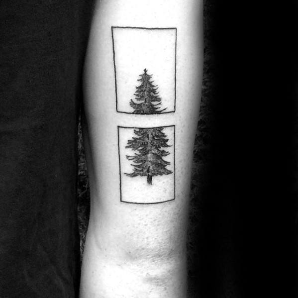 20 Abstract Tree Arm Tattoos Ideas And Designs