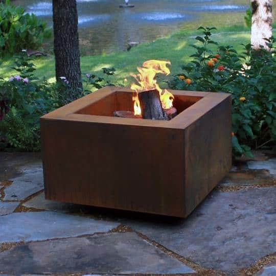 Top 60 Best Metal Fire Pit Ideas Steel Backyard Designs