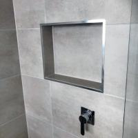 Top 70 Best Shower Niche Ideas - Recessed Shelf Designs