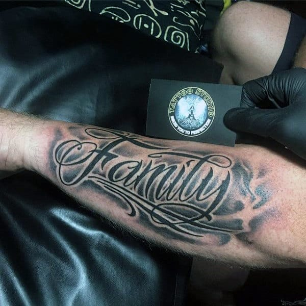 20 Family Tattoos For Men Best 100 Tattoo Ideas And Designs