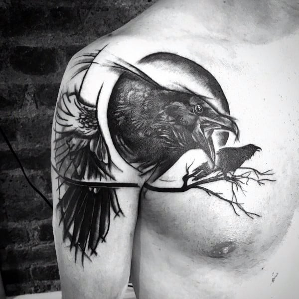 edgar allan poe tattoo design