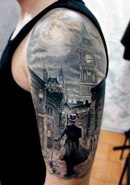 Tattoo Ideas For Men Half Sleeve Drawings