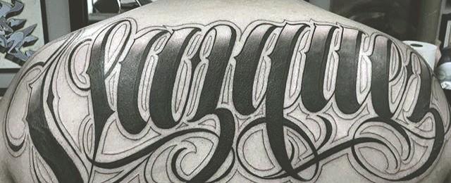 Tattoo Lettering Alphabet Designs