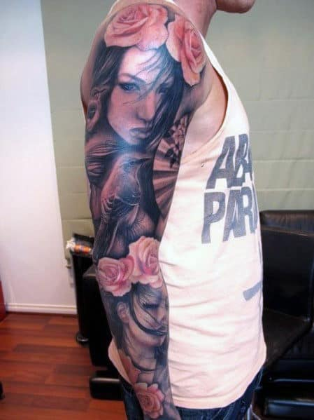 Tattoos For Men Sleeve