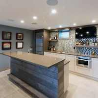70 Home Basement Design Ideas For Men - Masculine Retreats