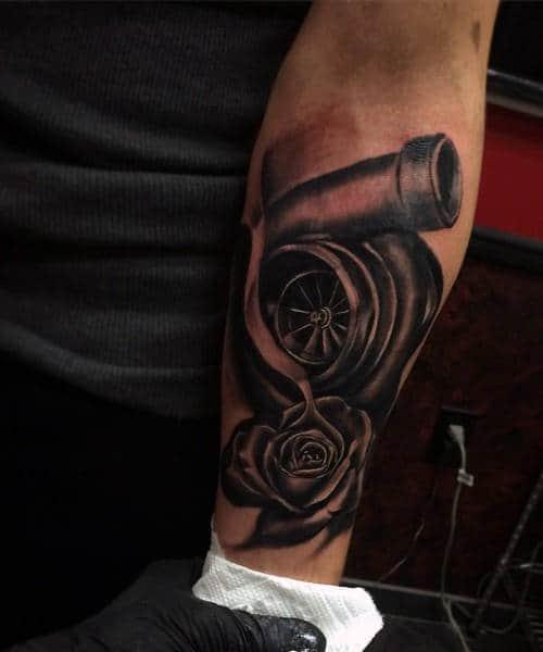 Car Guy Tattoos : tattoos, Tattoos, Automotive, Design, Ideas