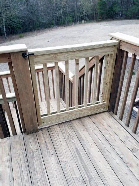 Premade Deck Railing