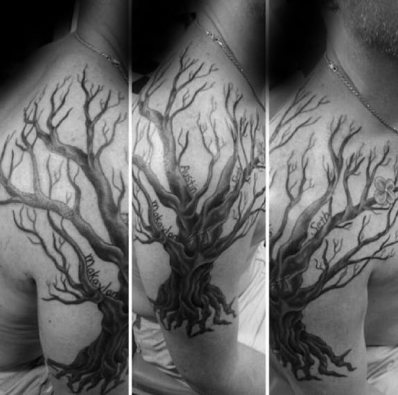20 Family Tree Tattoos Forearm Ideas And Designs