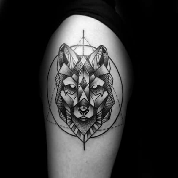 20 Wolf Tattoos Designs Circle Ideas And Designs