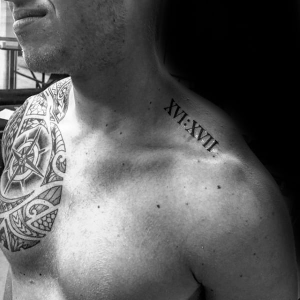 Small Roman Numeral Tattoo Ideas
