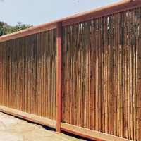 Top 50 Best Bamboo Fence Ideas - Backyard Privacy Designs