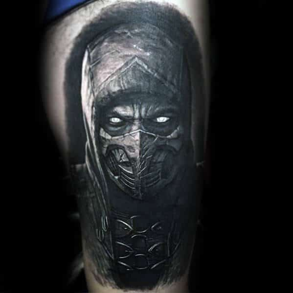20 3d Video Game Tattoos Ideas And Designs