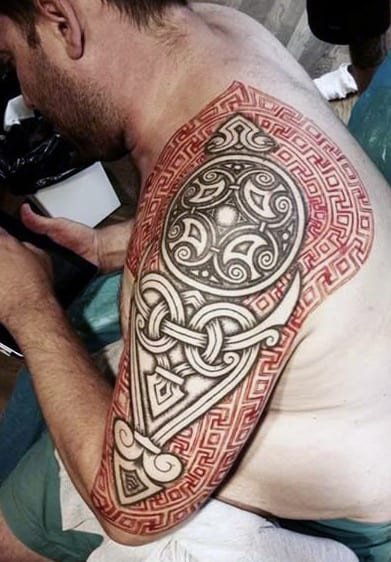 Norse Tribal Tattoo : norse, tribal, tattoo, Viking, Tattoo, Ideas, [2021, Inspiration, Guide]
