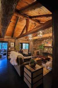 Top 60 Best Log Cabin Interior Design Ideas