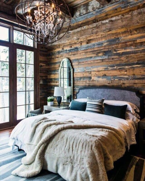 cabin living room decorating ideas pictures of laminate flooring in rooms top 40 best rustic bedroom - vintage designs