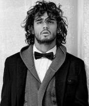 long curly hairstyles men