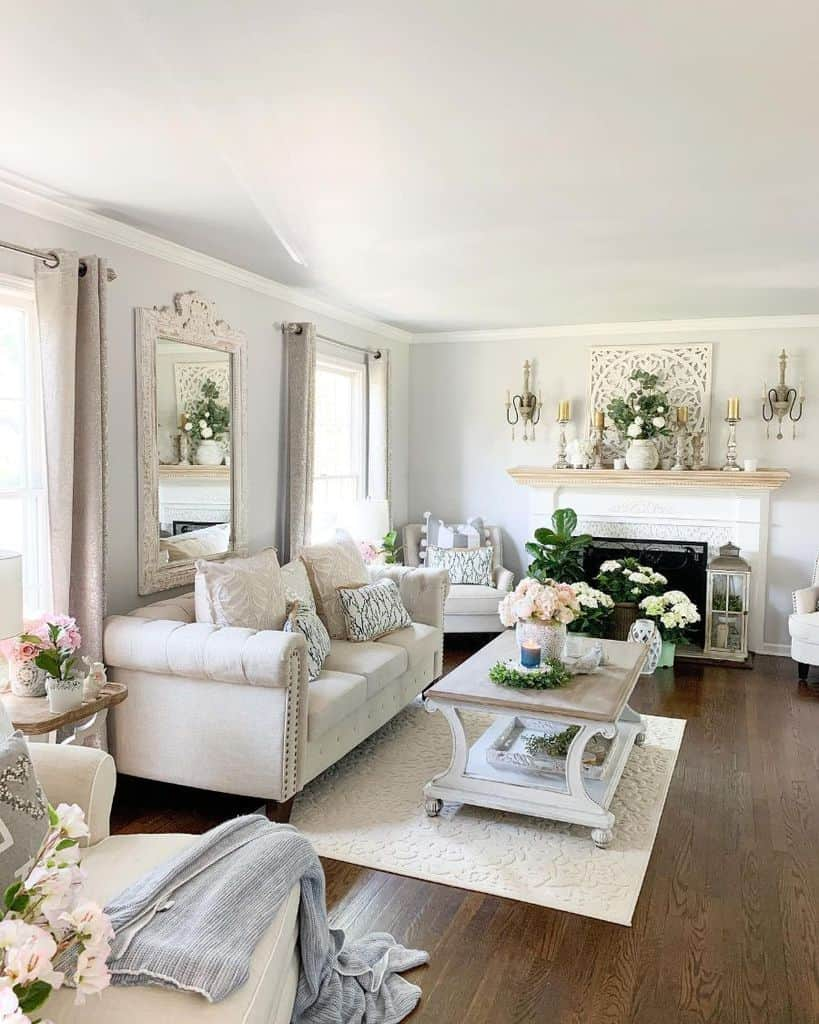 Not everyone has the time or money for a full makeover of their living room. The Top 70 Modern Farmhouse Living Room Ideas - Interior ...