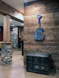 Top 50 Best Basement Pole Ideas - Downstairs Column Cover ...