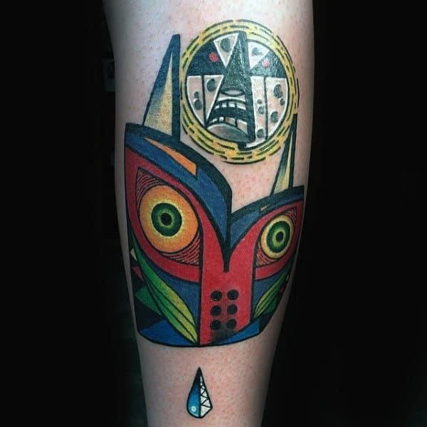 90 Zelda Tattoos For Men Cool Gamer Ink Design Ideas