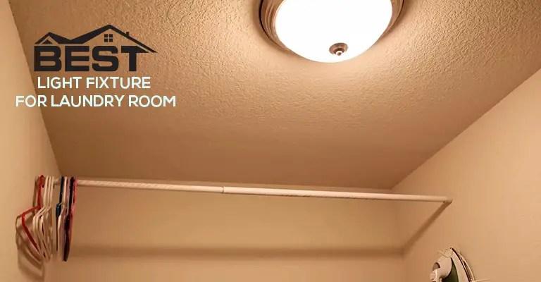 modern light fixture for laundry room