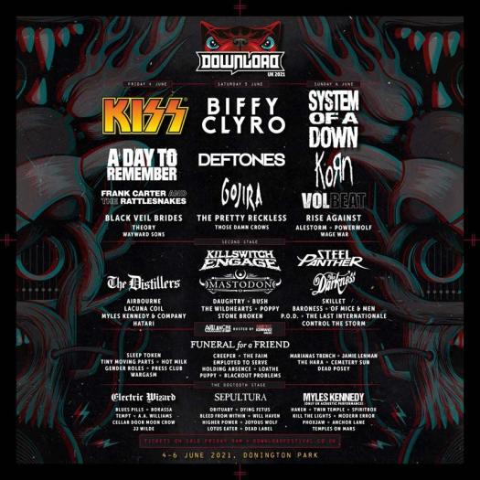 'Download Festival' 2021 line-up revealed | NextMosh: Rock ...