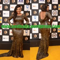 Exclusive: First Red Carpet Photos of Rita Dominic, D'banj, Yvonne Nwosu, Toolz & More Celebrities at Ebonylife Tv Launch in Lagos