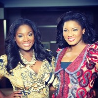 "Video: Watch as ""Omosexy"" Omotola Jalade-Ekeinde Talks about Family, Fame & Career on Ndani TV's 'The Juice' with Toolz"