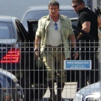 Check First Photos of Sylvester Stallone & Mel Gibson on the set of The Expendables 3 With the Cast Details