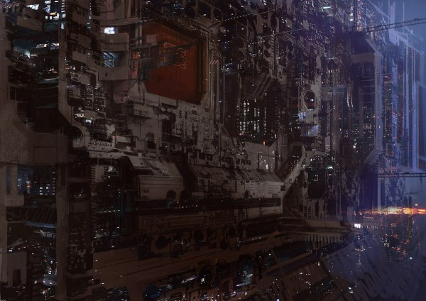 Science Fiction And Dystopia Simulacrum
